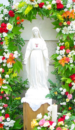 Statue of Our Lady of Pellevoisin